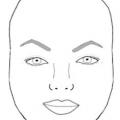 Брови для круглого обличчя: форма, фото. Правильні брови для круглого обличчя