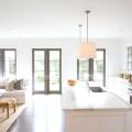 Вітальня, суміщена з кухнею: проект, дизайн. Інтер'єр кухні, суміщеної з вітальнею