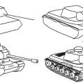 Як намалювати танк поетапно олівцем