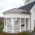 Як побудувати ганок до будинку? Як побудувати ганок з цегли, бетону, дерева