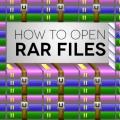 Як розархівувати файл «rar»? Розпаковуємо архів «rar» самі