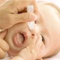 Як вибрати краплі від нежиті дитині для лікування? Корисні поради