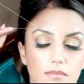 Як вищипнути брови ниткою правильно