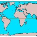 Яка довжина екватора землі?