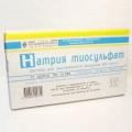 Ліки «натрію тіосульфат» - ефективний засіб для очищення організму