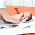 Норма збільшення ваги у новонароджених. Таблиця збільшення ваги новонародженого