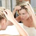Прищі на голові: причини і лікування