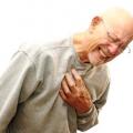 Серцеві напади і серцевий кашель. Причини виникнення і перша допомога