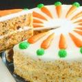 Торт морквяний. Як приготувати морквяний торт