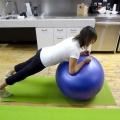 Гімнастичний м'яч: вправи для схуднення
