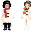 Як зробити своїми руками костюм сніговика