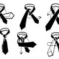 Як зав'язувати жіночий галстук красиво