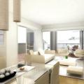 Красиві вітальні в сучасному стилі: приклади інтер'єру