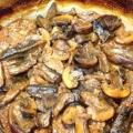 М'ясо з грибами в духовці: рецепт