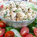 Святкове меню: салат з консервованою рибою