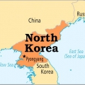Північна Корея. Столиці Північної Кореї. Північна Корея на карті