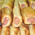 Сосиски в листковому тісті в духовці: рецепт приготування