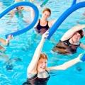 Вправи в басейні для схуднення. Комплекс вправ в басейні для схуднення