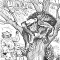 «Дикий поміщик» - короткий зміст сатиричної казки