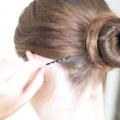 Як робити пучок на голові - прості і доступні варіанти