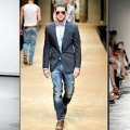 Піджак чоловічий під джинси - правила вибору і поєднання