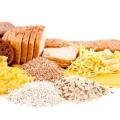Продукти, що містять вуглеводи, в щоденному раціоні харчування