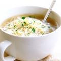 Рецепт супу на курячому бульйоні з фото