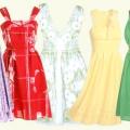 Стильні моделі сарафанів на літо