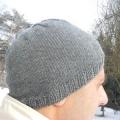 В'язання чоловічих шапок спицями за універсальною схемою