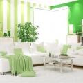 Який колір поєднується із зеленим в інтер'єрі