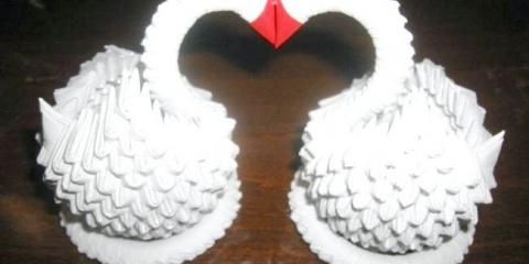 Як з паперу зробити лебедя: практичні поради