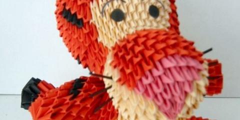 Орігамі з модулів: історія та особливості мистецтва